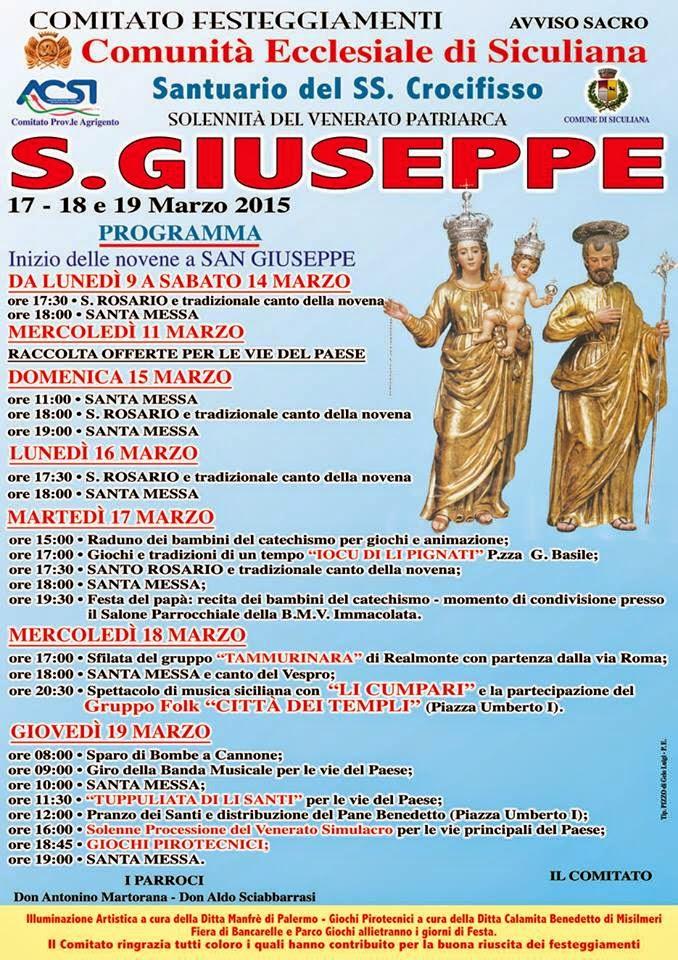 san giuseppe 2015