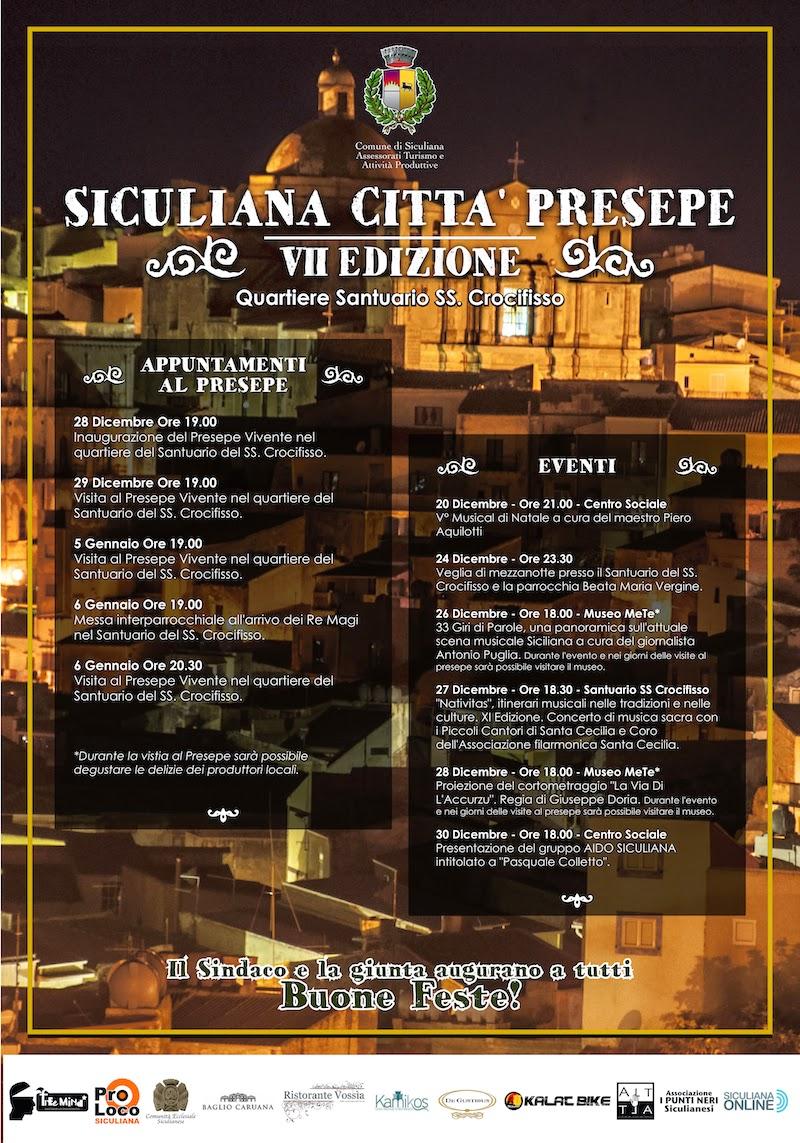 siculiana citta presepe 2014